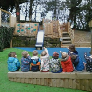Winter Visitors at Children 1st @ Acorns Upper Tean