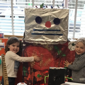 Robot Creations at Children 1st @ Plumtree