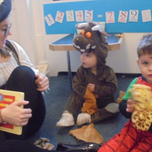 World Book Day at Children 1st @ Newark Town