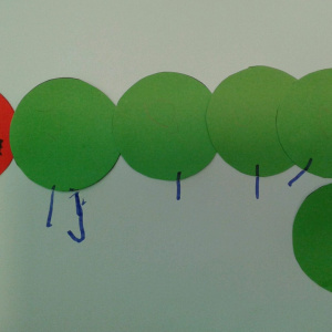 The Very Hungry Caterpillar at Children 1st @ Hathern