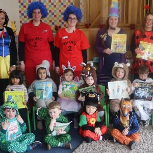 World Book Day at Children 1st @ Toton