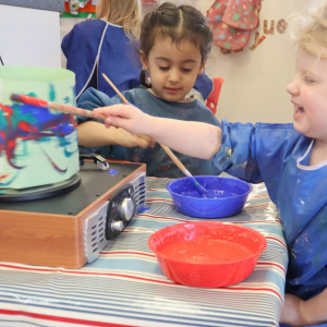 The Delight of  Science at Children 1st @ Toton