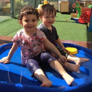 Under Twos Dive into the Water Play at Children 1st @ Sheffield