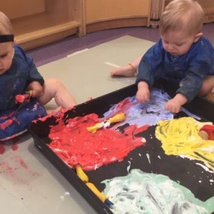 Painting Fun at Children 1st @ Derby Road
