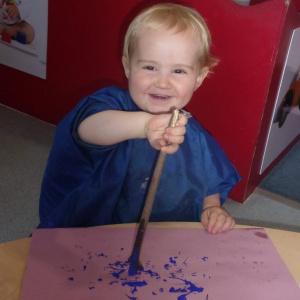 Mark Making at Children 1st @ Chesterfield Royal Hospital