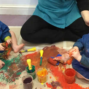 The Joy of Paint at Children 1st @ Derby Road