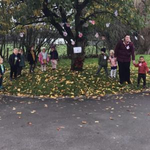 Remembrance Day Activities at Children 1st @ Bilborough, Main Street and Newark