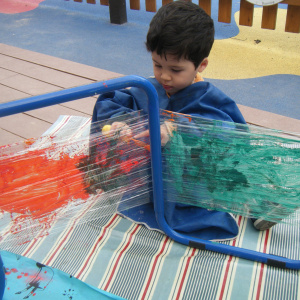 Benjamin Bunnies Painting at Children 1st @ Toton