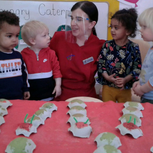 Very Hungry Caterpillars at Children 1st @ Leicester