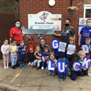 Go Leicester City at Children 1st @ Leicester!
