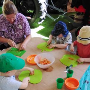 Planting Carrot Seeds at Children 1st @ Acorns