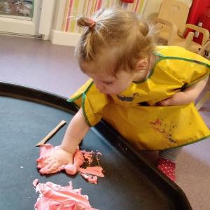 Exploring the Senses at Children 1st @ Bilborough!