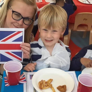 Celebrating British Food Fortnight at Children 1st @ Syston!